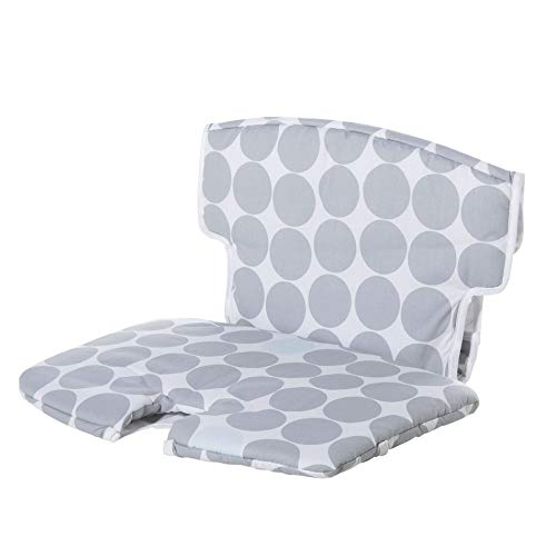 Geuther, Coussin d'assise pour chaise haute Syt 2337, Tissu, Motif: Pois gris