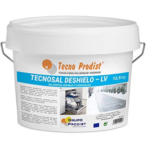TECNOSAL DESHIELO (12,5 Kg) sal especial para derretir hielo y nieve en...