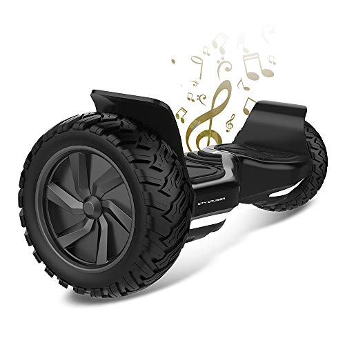 City Cruiser Hoverboard 8.5inch Self Balancing Scooter UL2272 Certified Off Road...