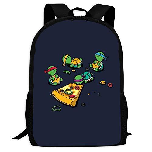 423 Mut-ant Ninja Tur-tles Children's Backpacks Rucksack for School,Fashion School Bags Travel Business Black