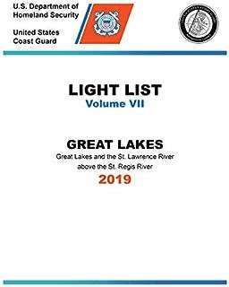 USCG Light List VII 2019: Great Lakes