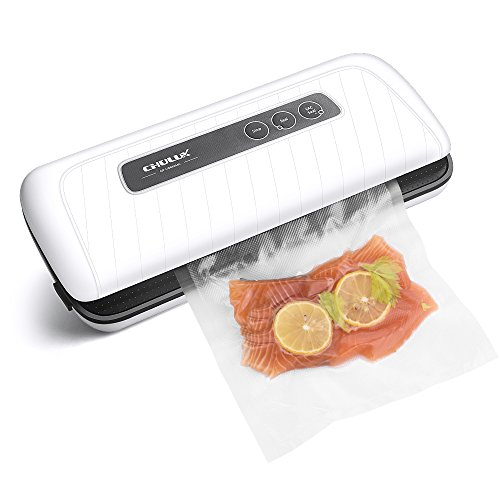 Review Of Vacuum Sealer Machine,CHULUX Vacuum Air Sealing System with Starter Kit Vacuum Bags and Ac...