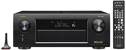Denon AVR-X6400H 11.2CH 4K Ultra HD AV Receiver Cutting Edge Home Theater System with HEOS,3D Audio and Amazon Alexa Voice Control