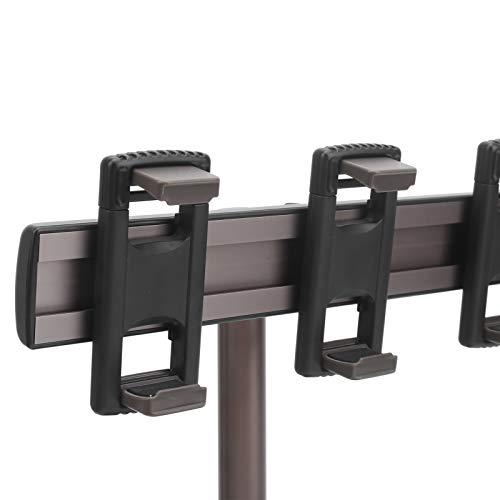 FOLOSAFENAR Soporte para teléfono telescópico, Soporte para teléfono Resistente con Base de Soporte Redonda para Escritorio para teléfono