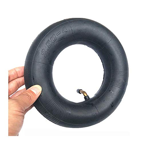 YLLN Neumático Eléctrico de la Vespa, tubo interior inflable de 8 pulgadas con ángulo de 45 grados 2.50-4, adecuado para triciclo eléctrico/scooter para ancianos/accesorios de neumático de ped