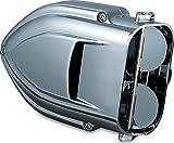 Kuryakyn 9322 Pro-R Hypercharger Air Cleaner/Filter Kit for 1999-2017 Harley-Davidson Motorcycles, Chrome
