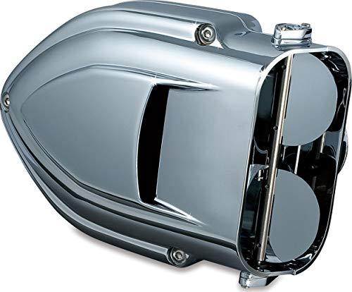 Kuryakyn 9322 Pro-R Hypercharger Air Cleaner/Filter Kit für 1999-2017 Harley-Davidson Motorräder, Chrom