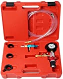 Cooling System Vacuum Purge and Coolant Vacuum Refill Kit for Car SUV Van Truck Universal Radiator Cooling Purge Tool Kit with Sponge Protected Case