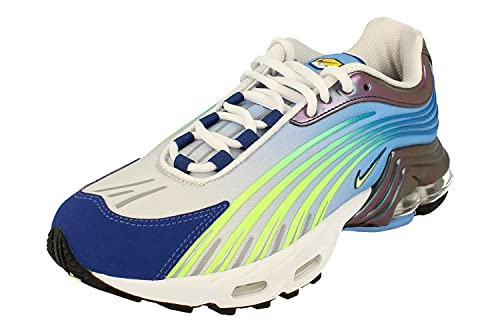 Nike Air MAX Plus II Hombre Running Trainers CQ7754 Sneakers Zapatos (UK 7.5 US 8.5 EU 42, Valor Blue Ghost Green 400)