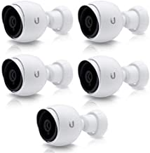 Ubiquiti Networks 5 Pack UniFi UVC-G3-AF 1080p Outdoor Day & Night Bullet Camera with Instant AF Adapter