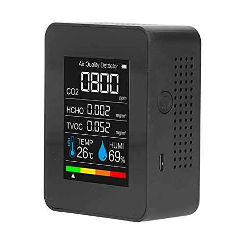Detector De Temperatura, Detector De Dióxido De Carbono Que Supervisa La Temperatura Y La Humedad Fácil De Leer para La Detección De Aire