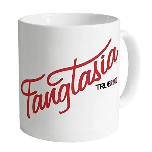 N\A Taza Oficial de True Blood Fangtasia Taza de café Tazas Divertidas Taza de Regalo