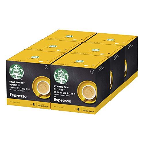 STARBUCKS Espresso Roast by Nescafe Dolce Gusto Blonde Roast...