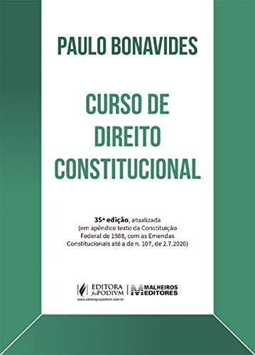 Curso de Direito Constitucional - 35Ed/20