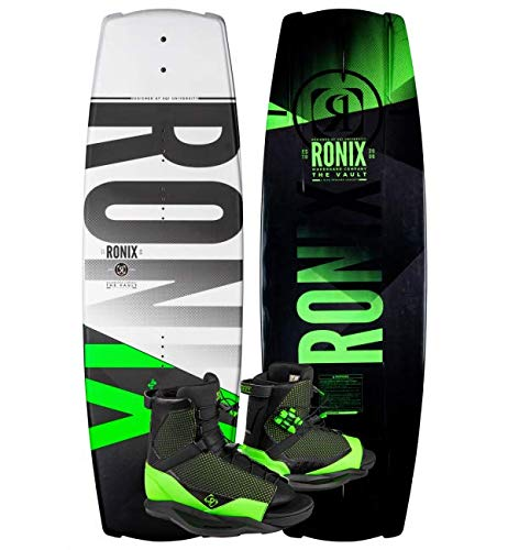 Ronix 139 Vault Wakeboard Package w/District 10.5-14.5...