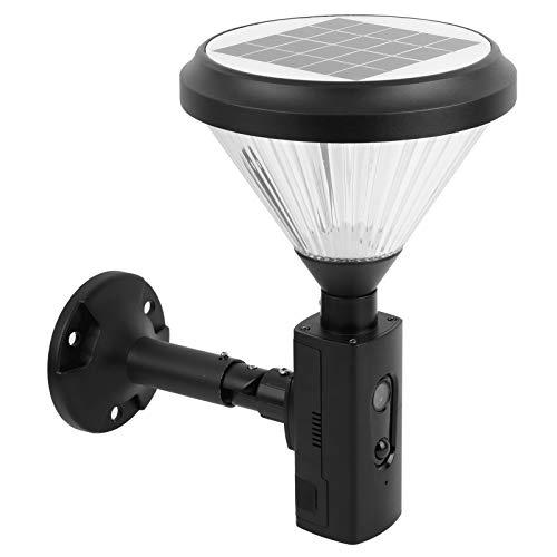 Ruining Cámara de detección de Movimiento, luz de cámara Smart Firm 1080P, para Uso General en hogares al Aire Libre con senderos de jardín