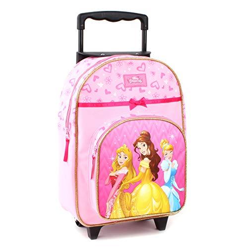Disney Princesses Sac à Dos à roulettes pour Enfants...