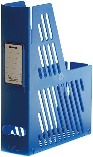 Archivo 2000 2005AZ - Cajetines de archivo con tarjetero, color azul