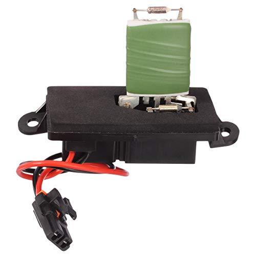 PartsSquare A/C Heater Blower Motor Resistor 89019089 RU371T Resistor (2 hole mounting flange)