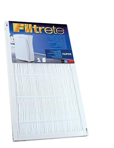 Filtrete FAPF03 Ultra Clean Large Air Purifier Replacement Filter - For Filtrete Air Purifier Model: FAP03 - 1 Filter