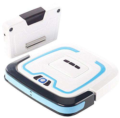 Sichler Haushaltsgeräte Putzroboter: Bodenwisch-Roboter, intelligente Navigation, Nass- & Trocken-Reinigung (Automatischer Bodenwischer)
