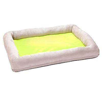 Fina cama para perros de huellas Viscoelástica Perros cesta perros almohada ortopédica Isa de FP tamaño L