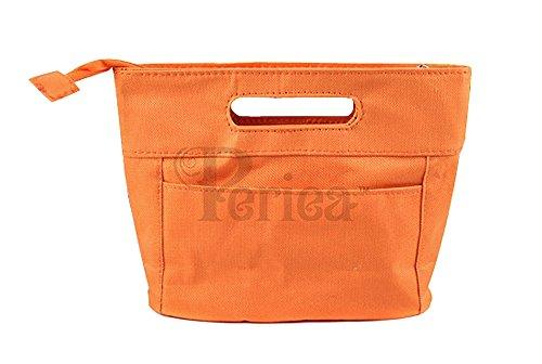 Periea Handtaschenordner, Einlage Einsatz 7 Taschen - Filiz orange