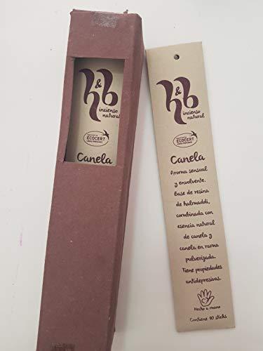 Qaromas Incienso Natural H&B Canela 15g