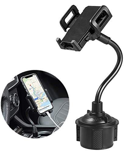 Soporte universal para teléfono de coche, 9 pulgadas de largo cuello giratorio de 360 grados, soporte estable para coche compatible con todos los iPhone/Pro Max/Samsung/Note/Galaxy y otros