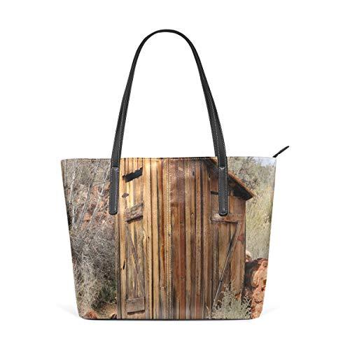NR Multicolour Fashion Damen Handtaschen Schulterbeutel Umhängetaschen Damentaschen,Nebengebäude alte Olivenbäume drucken