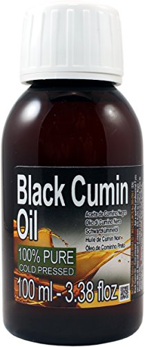 Aceite Puro de Comino Negro 100ml . 100% puro, 100% Natural. Extra Virgen. Calidad Garantizada, Origen Egipto