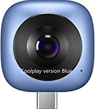 Surveillance Recorder 360 Panoramic Camera Coolplay Cv60 Lens Hd 3D Live Motion Camera Android 360 Degree Wide Angle Phone...