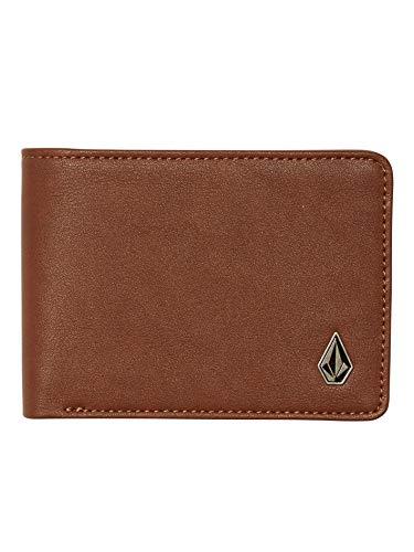 Volcom Bifold Wallet ~ Stranglong brown