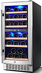 commercial [Improvement]2 zone wine cooler, Aobosi 15 inch, 30 bottles, built-in wine cooler or … wine coolers