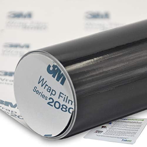 Car Film 3m 2080 Glossy Black Stripes Ultra Fine Microfibre Cloth 30 X 150 Cm 3m 2080 G12 Auto