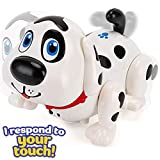 Liberty Imports Electronic Smart Pet Dog Harry - Interactive Puppy Toy Robot Responds to Touch, Walks, Barks, Sings, Dances