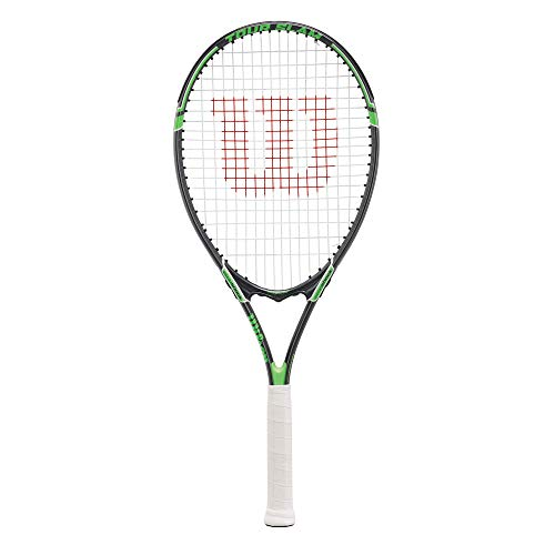 "Wilson Tour Slam Adult Strung Tennis Racket, 4 1/2"" - Green"