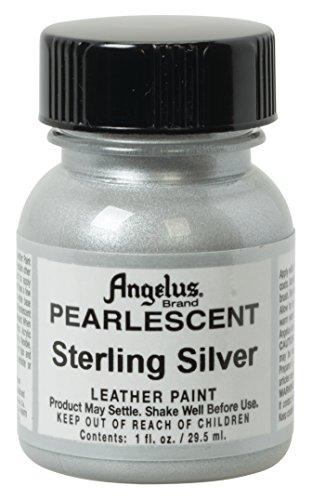 Angelus Acryl-Lederfarbe, Unisex-Erwachsene, 50-1947-P7, sterlingsilber, 1 oz