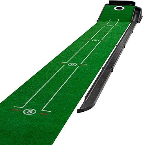 Maxfli Indoor Golf Putting Green Practice - Automatic Ball Return - 9'' X 12'