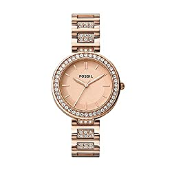 Fossil Analog Rose Gold Dial Women's Watch - BQ3181,Fossil,BQ3181