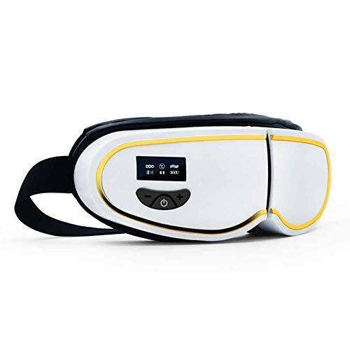 WHCCL Masajeador de Ojos eléctrico, máscara de Terapia de Ojos Plegable, con...