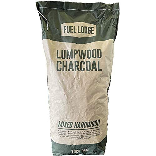 Fuel Lodge 10KG Barbecue bbq Charcoal Lumpwood Restaurant Grade Instant Light Pizza Oven Coal