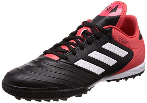 adidas Herren Copa Tango 18.3 TF Fußballschuhe, Schwarz (Core Black/Footwear White/Real Coral), 42 EU