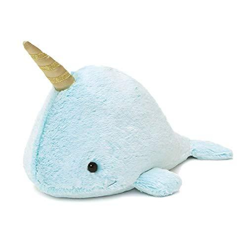 "GUND Nori Narwhal Stuffed Plush Whale, 12"" -  4061123"
