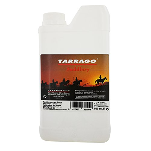 Tarrago | Aceite de Pata de Buey Saddlery | Nutre y Regenera los Cueros Resecos de Arreos y Accesorios de Equitación | Restaura Dejando la Piel Flexible. Suave y Seca