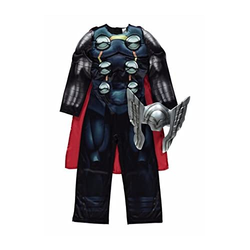 103c7feeacd7 Disney Marvel licensed Thor fancy dress Age 5-6yrs Avengers Assemble costume  made by Rubies
