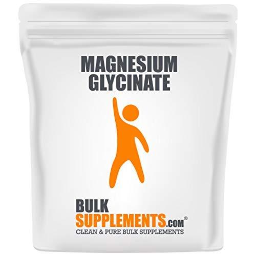BulkSupplements.com Magnesium Glycinate Powder - Magnesium Supplements - Pure Magnesium Glycinate (250 Grams - 8.8 oz)