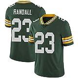WLLIT NFL Football Jersey Packers # 12 Rodgers 52 21 87 Nelson Camiseta de fútbol de Manga Corta Para Hombre, Camiseta Deportiva de Manga Corta-C3-M