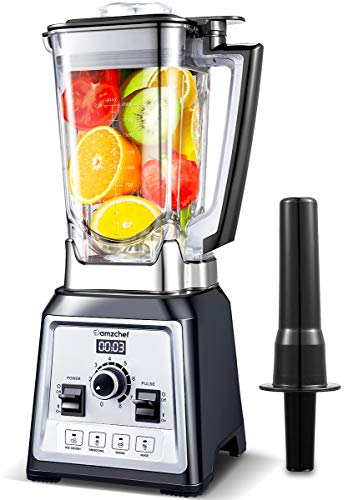 AMZCHEF Blender 2000W, Blender Smoothie, Mixeur...