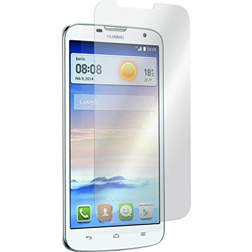 PhoneNatic 2 x Glas-Folie klar kompatibel mit Huawei Ascend G730 - Panzerglas für Ascend G730